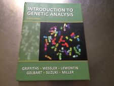 An Introduction to Genetic Analysis Eigth EDITION hardcover 5823B