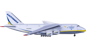 1:500 Herpa Antonov AN-124 Passenger Airplane Diecast Aircraft Model Collection