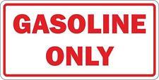 Adesivi adesivo sticker moto auto gasoline only carburante benzina gasolio