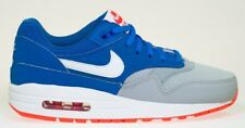 NIKE AIR MAX 1 JUNIORS TRAINERS, SHOES, BLUE, UK 5 to 6
