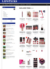 Lipsticks Website Fully Stocked Home Business With 1 Years Hosting Domain