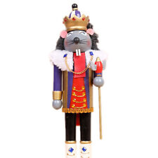 "Mouse King Nutcracker Suite Christmas Nutcracker  | Stands At 14.9"" Tall"