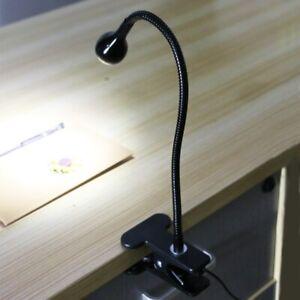 Optical Microscope LED Clip Light Source USB Desk Clip-on Dimming Spotlight