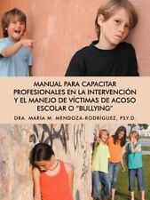Manual para Capacitar Profesionales en la Intervención y el Manejo de...