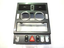 Mercedes SLK R170 Verkleidung Mittelkonsole Blende Abdeckung Carbon-Look