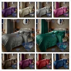 Luxury Crushed Velvet Quilt Duvet Cover Bedding Linen Set Housewife Pillowcases