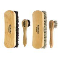 Shoe Shine kit. Shoe Polish Brush & Polish Applicators. 100% Horsehair Brush Kit