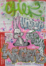 CHIEF (Milan 1985) UNDERGROUND LEGEND on Milan map StreetArt as SEEN DONDI RD357
