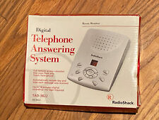 Rare Vintage RADIO SHACK TELEPHONE ANSWERING SYSTEM MODEL TAD-3822 BRAND NEW