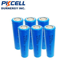 6 x 18650 Battery 3.7V 2600mAh Lithium Li-ion Vape Rechargeable Batteries PKCELL