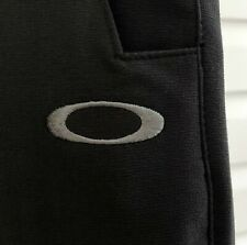 ⛳️ Men's OAKLEY Golf Pants Embroidered O Polyester-Spandex Stretch • 32 W x 30