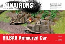 Minairons 1:72 Bilbao armoured car (2 vehicles) - 20mm Spanish Civil War