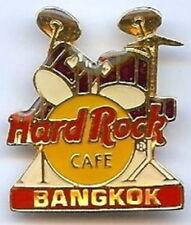 Hard Rock Cafe BANGKOK 1990s PURPLE DRUM KIT w/ HRC Logo PIN DRUMS - HRC #14474