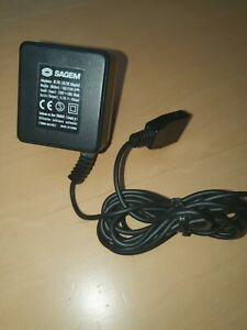 SAGEM AC-DC Adapter Charger - Model No 18577104-9