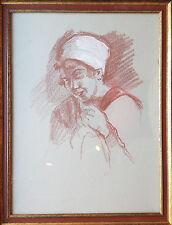 Zeichnung Franz Hermann Lechner 1879 - 1924 aus dem Nachlass Lechner PrienRahmen
