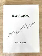 Day Trading Joe Ross New Hard cover English edition