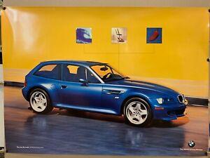 RARE! Original BMW M coupe Poster! BMW MZ3 Dealer Promo Item! Chili Pepper!