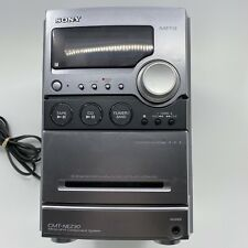 New listing Sony Cmt-Nez30 Audio Micro System Cd Player Cassette Deck Am/Fm Radio Tested!