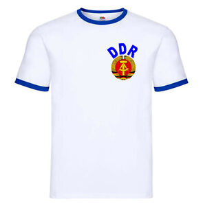 East Germany Retro Style DDR Football Team T-Shirt - All Sizes
