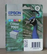 Original Epson t001 encre color pour Stylus Photo 1200 c13t0010111 5-couleur neuf dans sa boîte