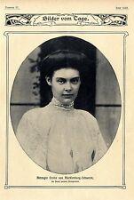Herzogin Cecilie von Mecklenburg- Schwerin, die Braut unseres Kronprinzen v.1904