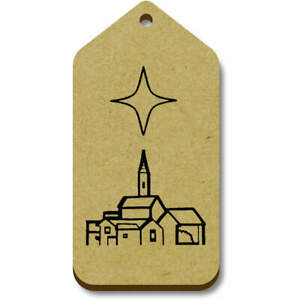 'Star Of Bethlehem' Gift / Luggage Tags (Pack of 10) (TG024328)