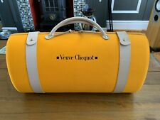 More details for veuve cliquot case with two branded glasses, champaign not included