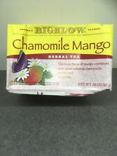 Bigelow 3 pk of 20 Chamomile Mango Herbal Teabags - DAMAGED - Exp 10/22