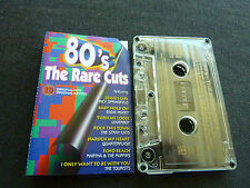 80'S THE RARE CUTS RARE OZ CASSETTE TAPE! STRAY CATS MADNESS NIK KERSHAW