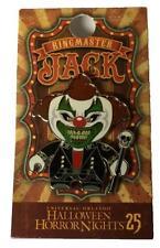 Universal Studio HHN 25 Halloween Horror Nights Jack Clown Pin LE BLACK Variant