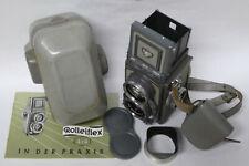 Rollei baby Rolleiflex 4x4 oggetto da collezione Xenar 3,5/60 mm Obiettivo GRIGIO