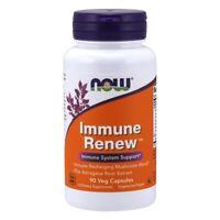 NOW FOODS Immune Renew 90 VCaps Immune Recharging Mushroom Astragalus Root Blend