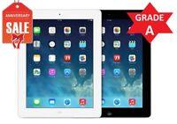 Apple iPad 4th WiFi + Cellular Unlocked | Black White | 16GB 32GB 64GB 128GB (R)
