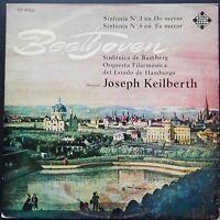 Beethoven - Symphonies No. 1 & 8, KEILBERTH, Telefunken MONO