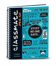 Classmate Premium 6 Subject Spiral Notebook 203x267mm, Soft Cover 300 Pages