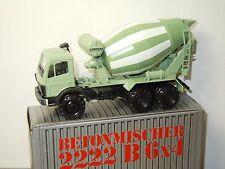 Mercedes 2222B 6X4 Betonmischer - Conrad Germany 1:50 in Box *30065