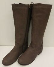 NEW! Flock Nubuck Ladies Boots Knee High Long Shoes Fashion Contracted Footwear