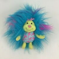 Lil Fursons Fuzzy Blue and Yellow Plush Stuffed Toy Tyco Vintage 90s 1995