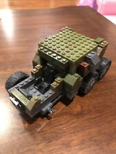 LEGO Army Military Hummer Camo Tank Truck Glued Together 4 Wheels A3