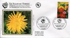 FRANCE FDC - 2910 1 SALON DU TIMBRE - 15 Octobre 1994 - LUXE sur soie