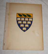 Branford College 1941-1942 history - Part of Yale University