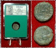 Ancient Greek Coin THRACE MARONEIA Galloping Horse On Obverse Grapes On Reverse