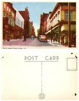 CANADA Postcard - Quebec, St. Joseph Street (B16)