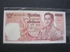 THAILAND 100 BAHT 1969 P85 CU #O ND RAMA 9 THAI SIAM BANKNOTE PAPER MONEY