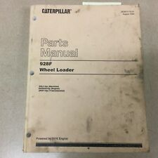 Cat Caterpillar 928f Parts Manual Book Catalog Wheel Loader List Guide Sn 2xl