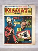 Valiant weekly Magazine UK comic for boys, 13/01/1973 IPC Magazines Vintage rare