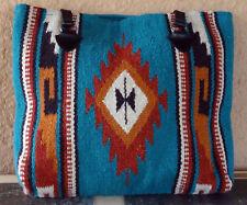 Wool Purse HIPURSE-NT Maya Modern Hand Woven Large Southwestern Laptop Bag Tote