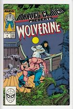 MARVEL COMICS PRESENTS #6 (1988-11) Anthology Wolverine Man-Thing Shang-Chi HIGH