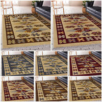 Large Living Room Rugs Turkish Thick Pile Non Slip Kitchen Hall Runners Door Mat