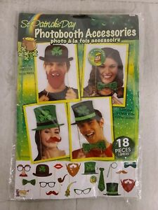 Forum Novelties 80183 St. Patrick's Day, One Size, Photo Booth Accessory